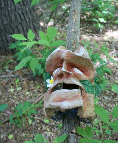 paper mache face 2