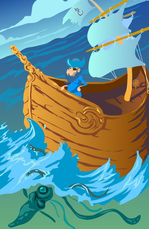 paddling pirate