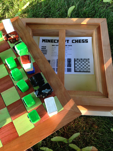 minecraft chess instructions